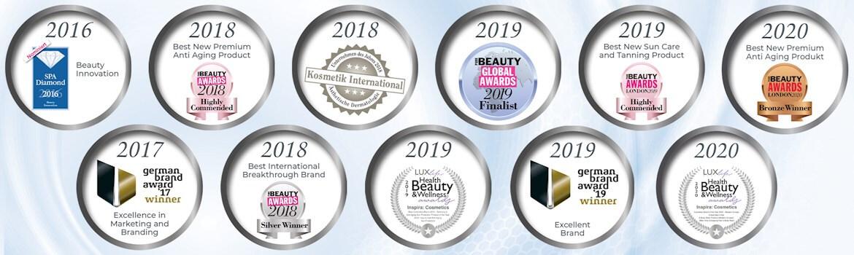 Inspira Cosmetics díjak, elismerések